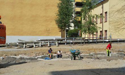 Gamla fynd stoppar nya bostäder