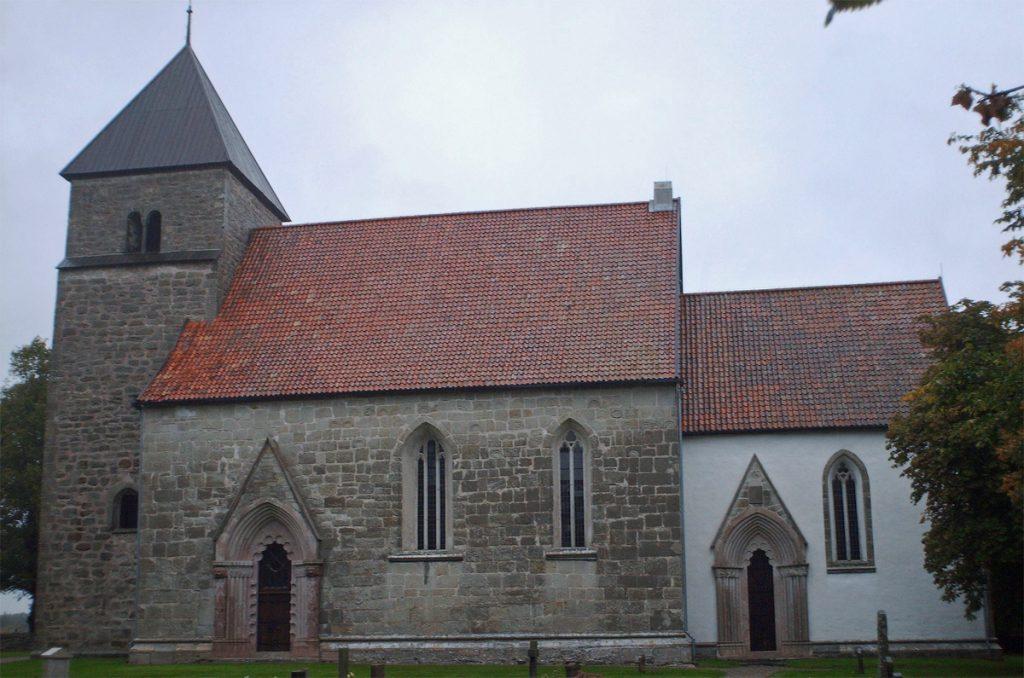 Hablingbo kyrka. Foto: Artifex (Wikimedia Commons CC-BY-SA-3.0)