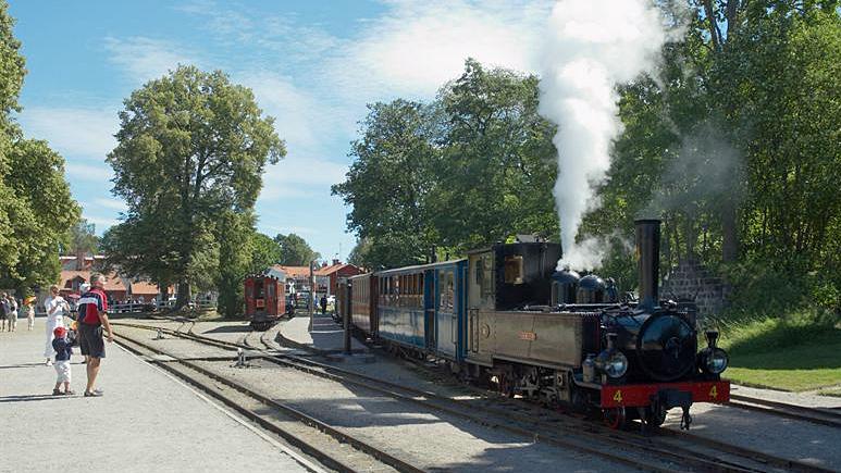 Mariefreds station drivs av Östra Södermanlands Järnvägar, medlemsorganisation i Museibanornas riksorganisation, som är en av föreningarna som fått bidrag. Foto: Bengt A Lundberg (CC-BY)