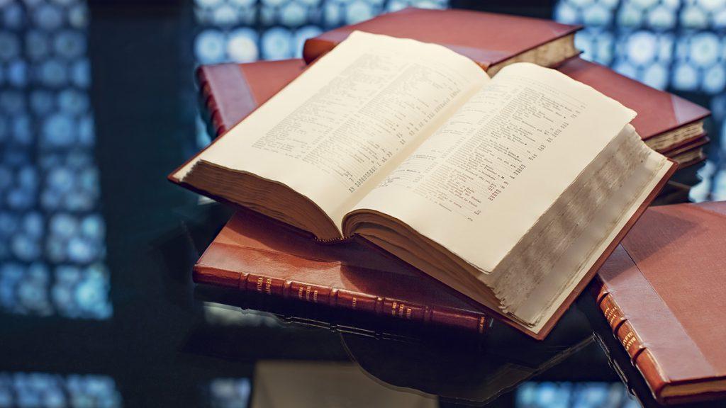 Katalogverket på Hallwylska museet. Foto: Erik Lernestål