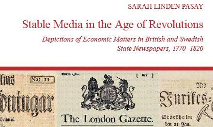 Skildringar av ekonomiska fenomen i statlig press 1770–1820