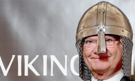 Kungen invigde nya vikingamuseet