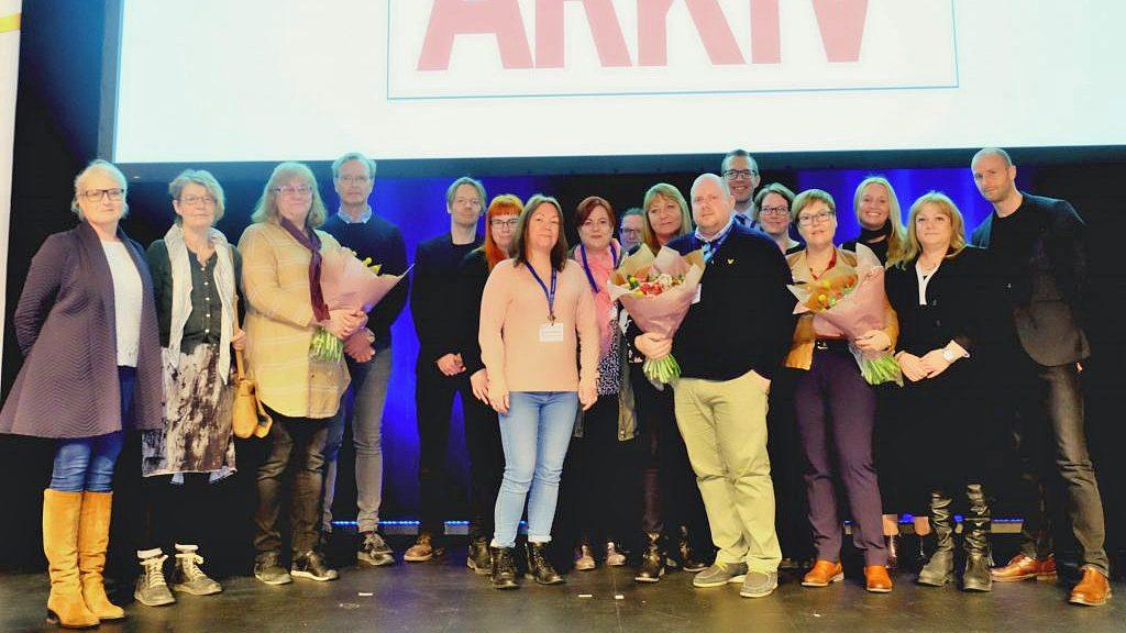 Prisutdelningen för Årets arkiv 2017. Foto: Arkivforum