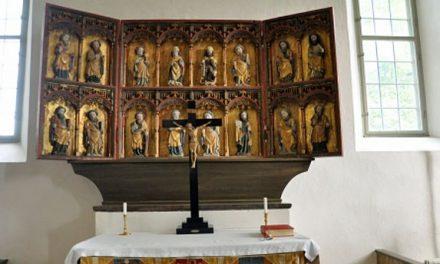 Rejäla lås mot stöld i kyrkor
