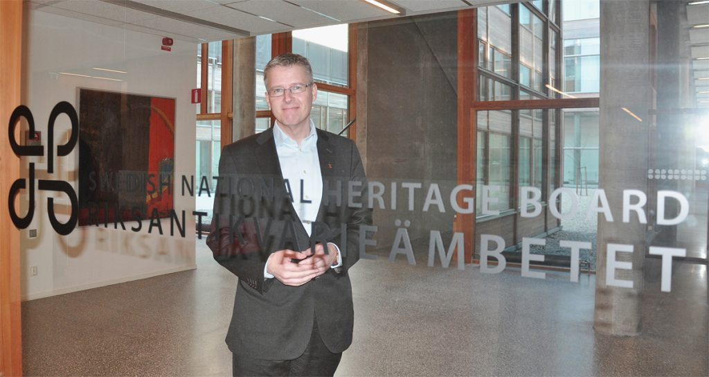 Riksantikvarie Lars Amréus. Foto: Riksantikvarieämbetet