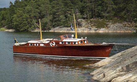 Elva fritidsbåtar k-märkta av Sjöhistoriska museet