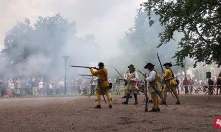 Slaget vid Lund spelades upp i Lundagård