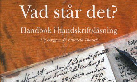 Handbok i handskriftsläsning