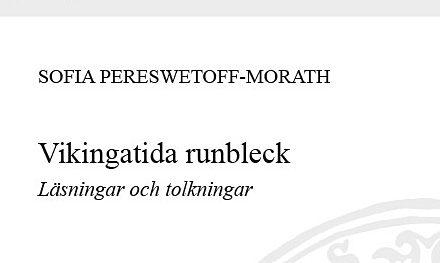 Läsningar och tolkningar av vikingatida runbleck