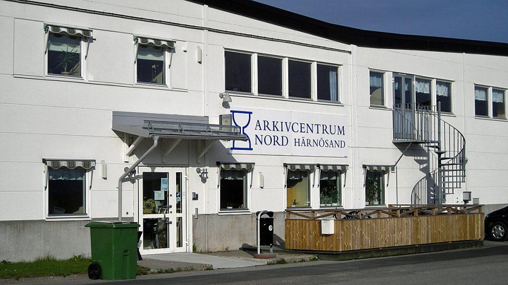 Arkivcentrum Nord i Härnösand. Foto: Rolf Boström/Landsarkivet i Härnösand
