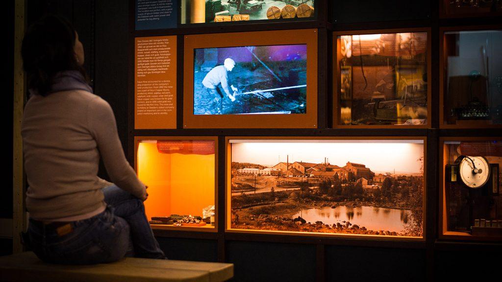 Ny utställning vid gruvmuseet i Falun,