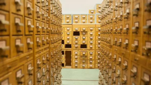 Kortkataloger på Kungliga biblioteket. Foto: Jens Gustavsson