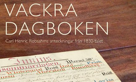 Lanbrukaren Carl Henric Robsahms dagbok från 1830-talet