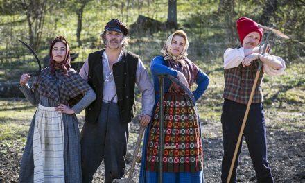 Historiska emigranter söker lyckan i TV