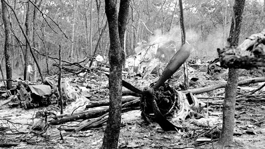 FN-rapport: Dag Hammarskjölds plan sköts troligen ner