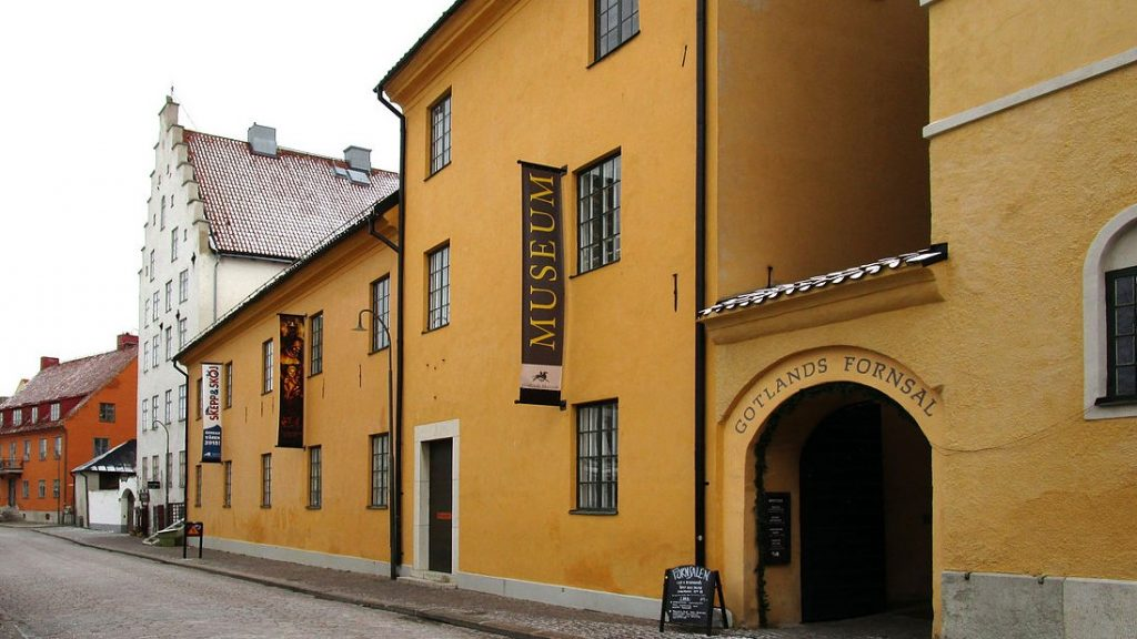 Gotlands Museum. Foto: W.carter (CC-BY-SA-4.0)