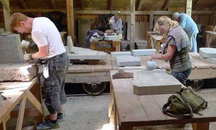 Råbäcks Mekaniska Stenhuggeri är Årets arbetslivsmuseum