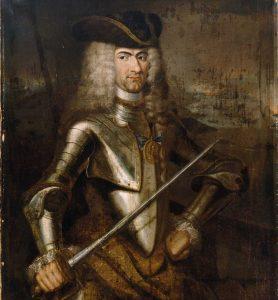 Norsk-danske amiralen Peter Wessel Tordenskjold (1690-1720).