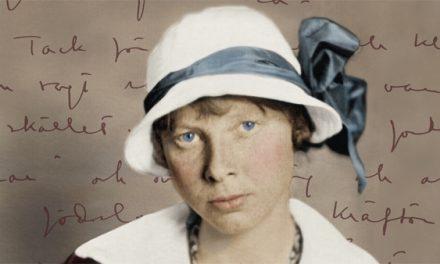 Biografi om Ester Blenda Nordström blev Årets bok om svensk historia