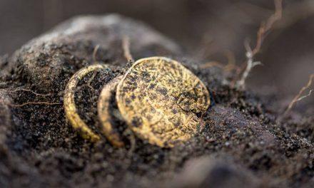 Romerskt guld och glas i Sandby borg