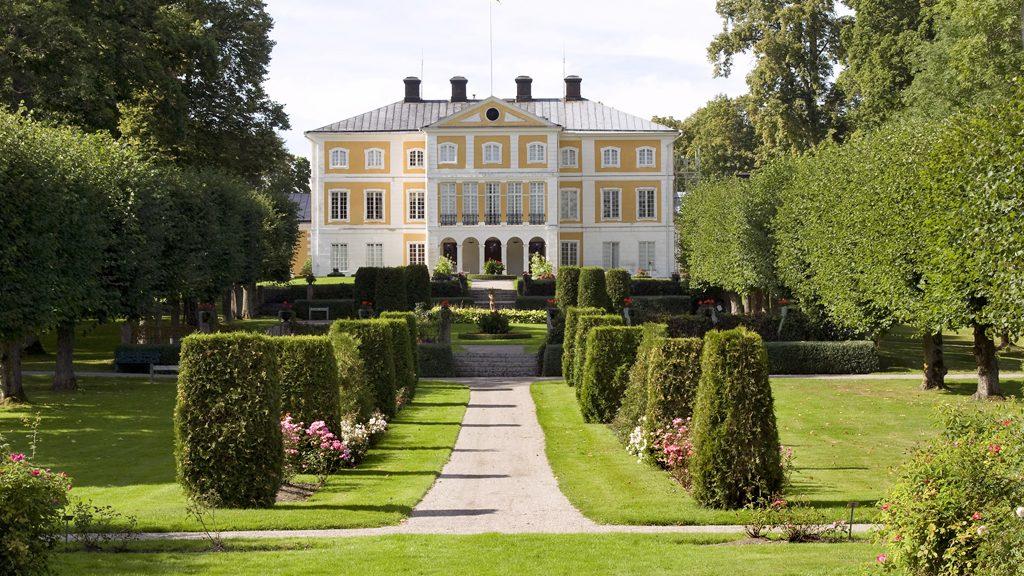 Stora huset på Julita gård. Foto: Nordiska museet