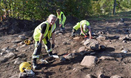 Maktelitens område i Sigtuna grävs ut