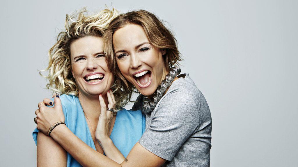 Christine Meltzer och Carina Berg. Foto: Magnus Ragnvid/Kanal 5
