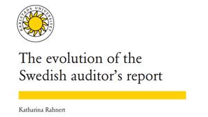 Revisionsberättelsens utveckling från mitten av 1600-talet till i dag