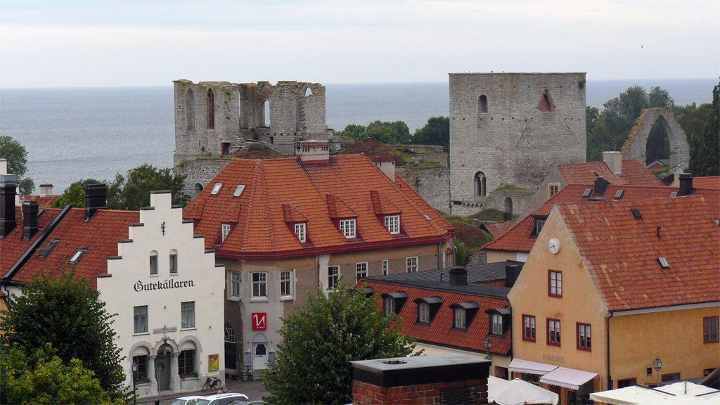 Visby. Foto: Żeglarz (Wikimedia Commons)