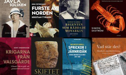 Rösta fram Årets bok om svensk historia 2017