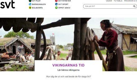 "SVT-serien ""Vikingarnas tid"" anmäls"