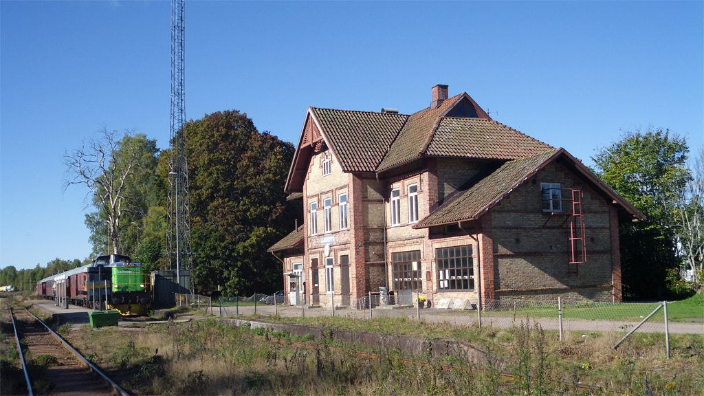 Landeryds station. Foto: Jan Pešula (Wikimedia Commons /CC-Zero)
