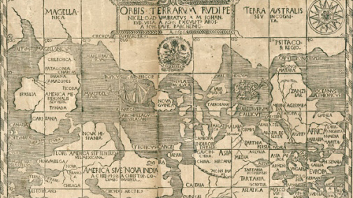 Kartor och reseberättelser berättar om svunna tiders världsbilder