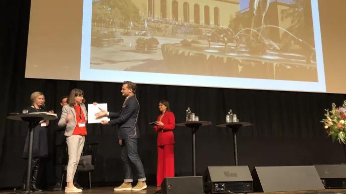 Utdelningen av priset Årets museum. Foto: Göteborgs konstmuseum