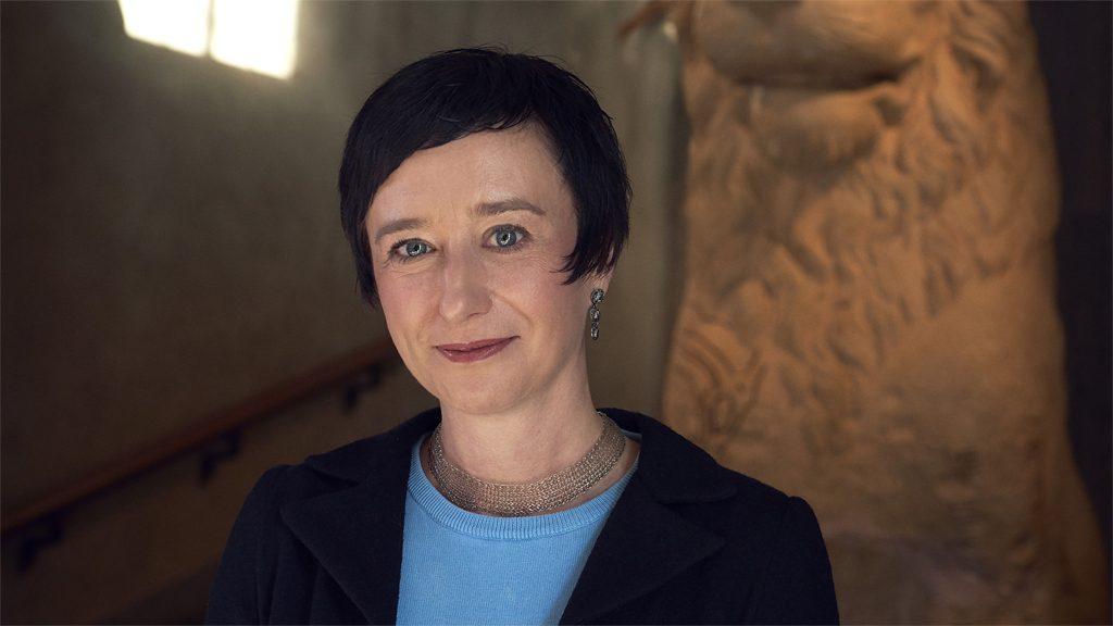 Katherine Hauptman, chef för Historiska museet. Foto: Erik Lernestål/Statens historiska museer