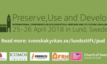 Internationell konferens om det kyrkliga kulturarvet