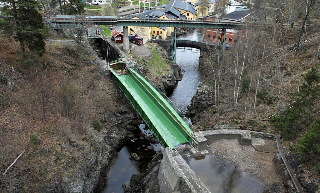 Akvedukten i Håverud. Foto: Klas Lundkvist
