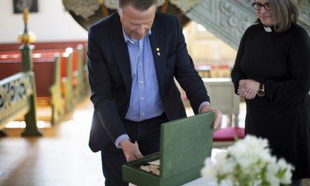 Glömda dokument från kriget tillbaka i Boden