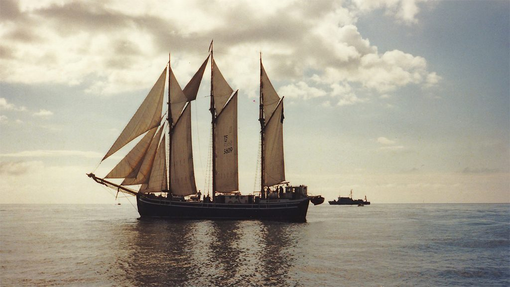 Segelfartyget Westkust