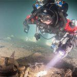 Nya fynd vid skeppsvraket Mars utanför Öland