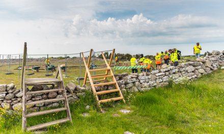 Kort utgrävning vid Sandby borg