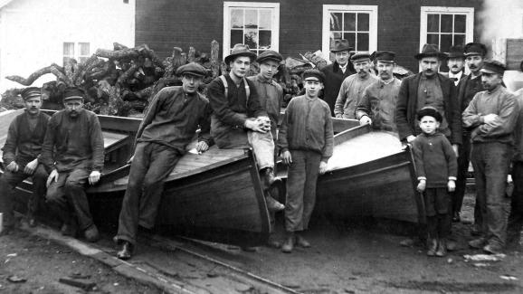 Båtbyggare i Söderköping