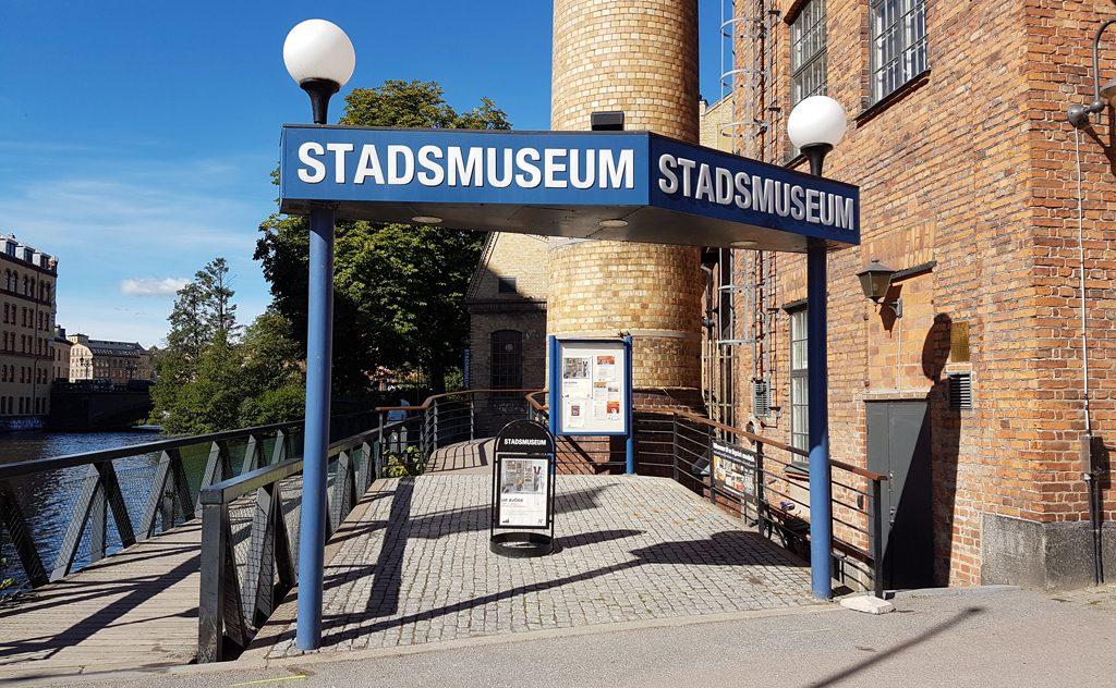 Entrén till Norrköpings stadsmuseum. Foto: Peter Kristensson/Klingsbergs Förlag
