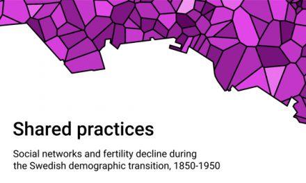 Sociala nätverk och fertilitetsnedgång 1850–1950