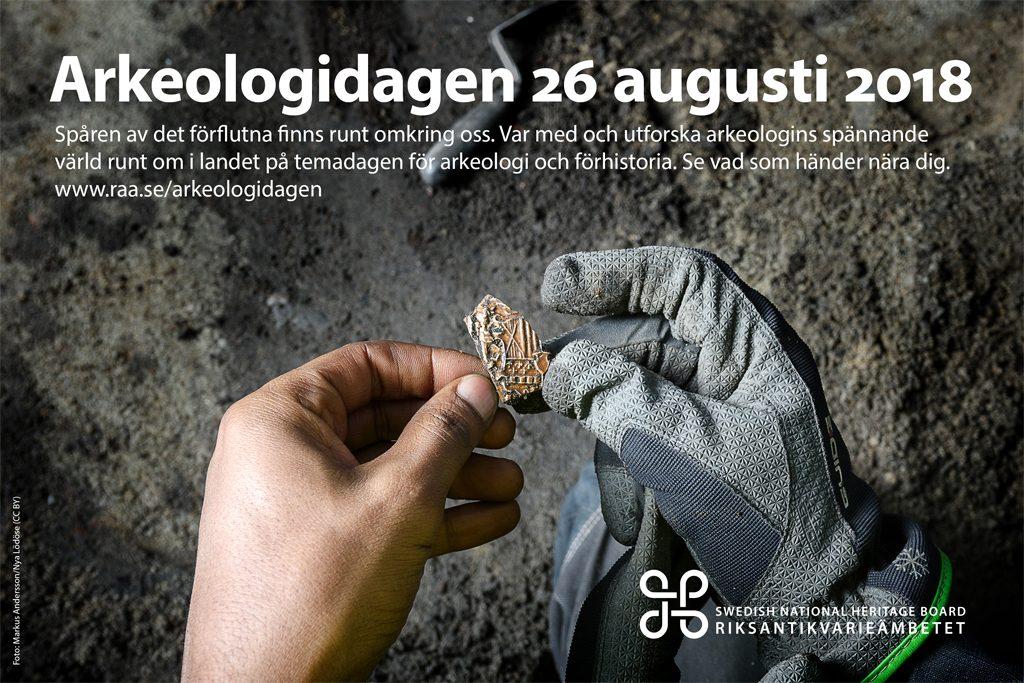 Temabild för Arkeologidagen 2018