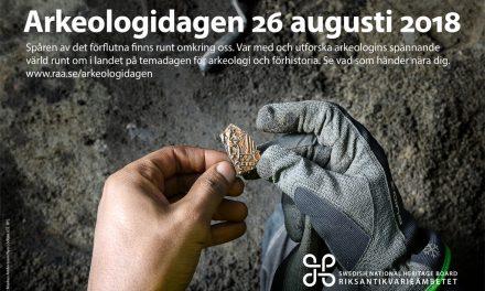 I dag är det Arkeologidagen
