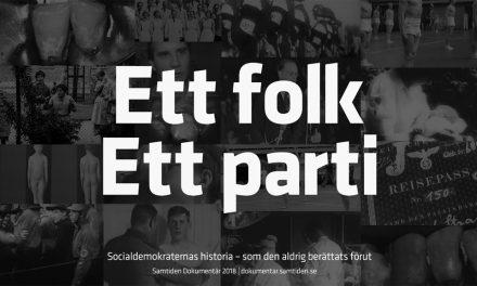 SD:s oväntade valsatsning: Långfilm om Socialdemokraternas historia