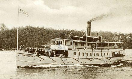 Ångbåten 200 år firas med ångbåtsparad i Stockholm
