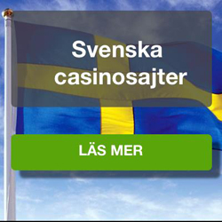 Svenska casinosajter hos casinologen