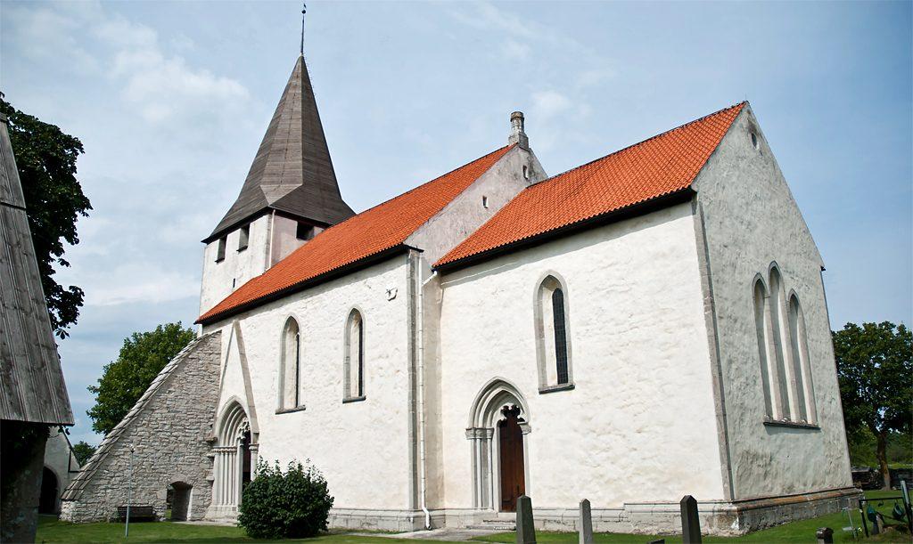 Bunge kyrka. Foto: Per Enström (Wikimedia Commons, CC BY-SA 3.0)